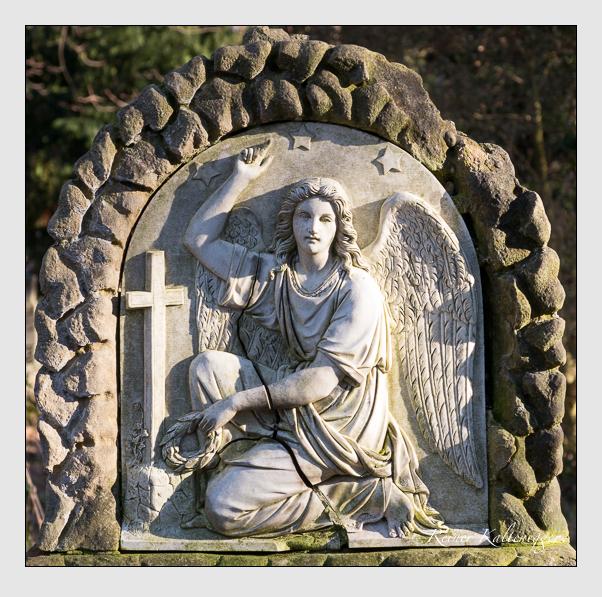 Grab der Familie Metzler auf dem Alten Südfriedhof München (Januar 2020)