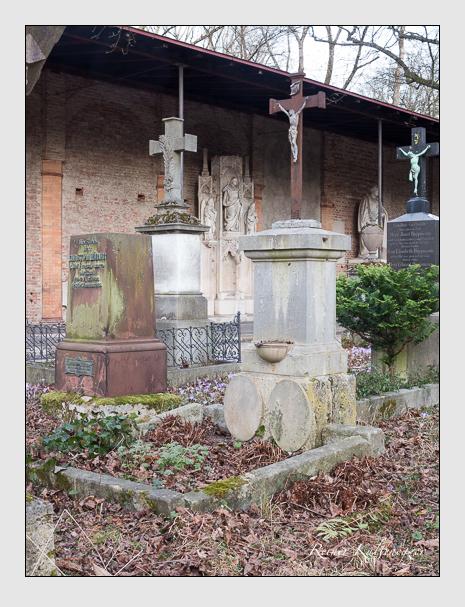 Grab der Familien Dietl · Hefele auf dem Alten Südfriedhof München (Februar 2020)