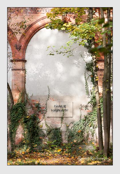 Grab der Familie Haymann auf dem Alten Südfriedhof München (Oktober 2008)