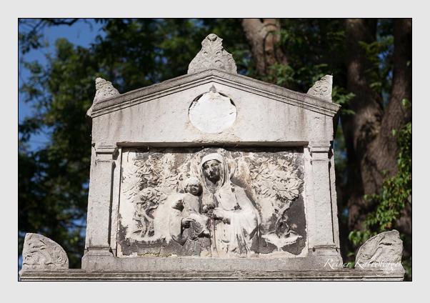 Grab der Familie Schreiber auf dem Alten Südfriedhof München (August 2011)