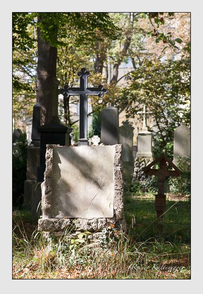 Grab der Familie Köhler auf dem Alten Südfriedhof München (Oktober 2011)