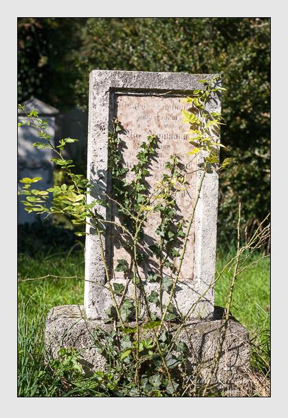 Grab der Familie Baumann auf dem Alten Südfriedhof München (Oktober 2011)