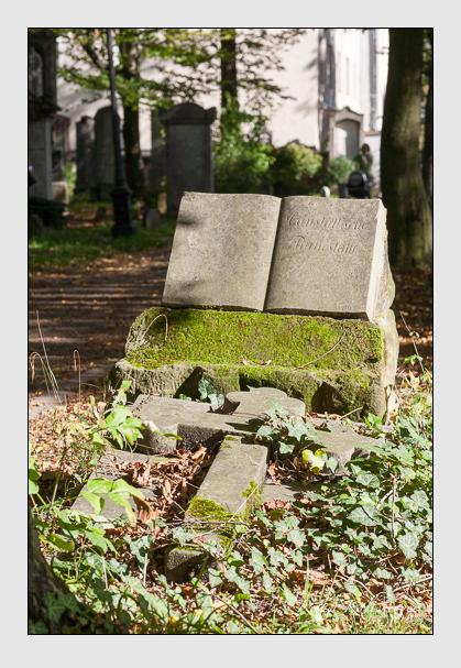 Grab der Familie Canstatt auf dem Alten Südfriedhof München (Oktober 2011)