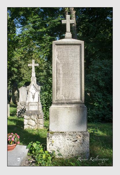 Grab der Familien Göringer · Krieger · Strehler auf dem Alten Südfriedhof München (August 2012)