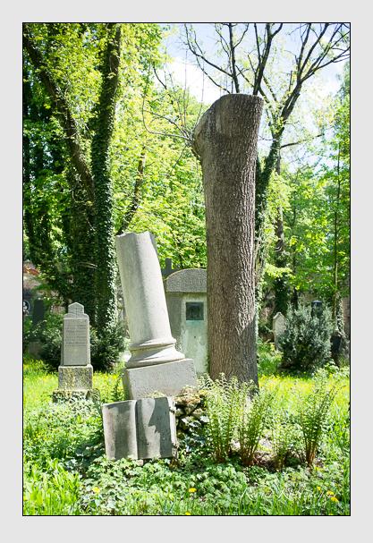 Grab der Familie Schüssel auf dem Alten Südfriedhof München (Mai 2013)