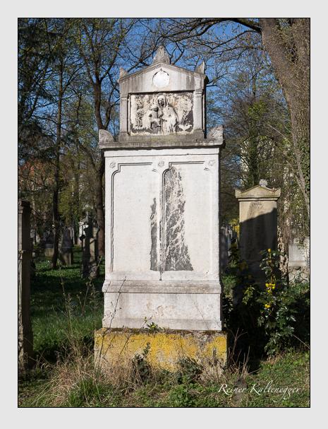 Grab der Familie Schreiber auf dem Alten Südfriedhof München (März 2014)
