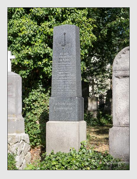Grab der Familie Klein auf dem Alten Südfriedhof München (Juni 2014)