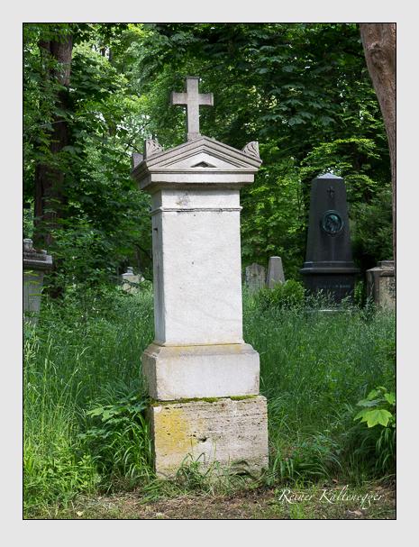 Grab der Familie Krause auf dem Alten Südfriedhof München (Mai 2015)