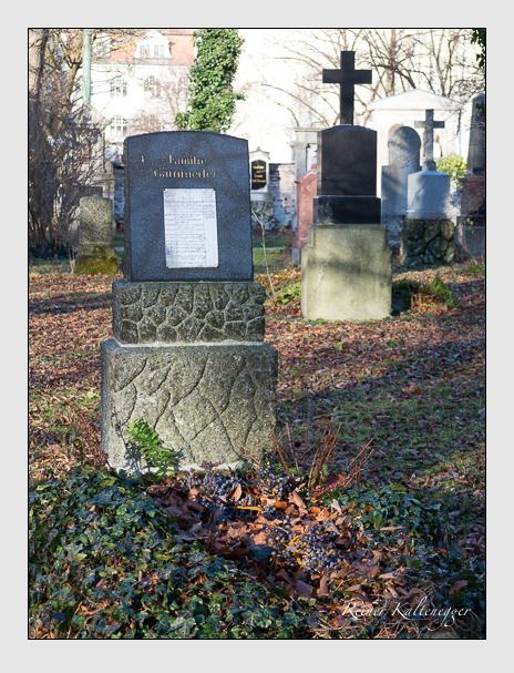 Grab der Familie Gämmerler auf dem Alten Südfriedhof München (Dezember 2015)