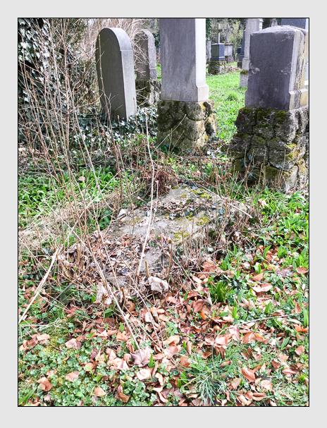 Grab der Familie Rothhammer auf dem Alten Südfriedhof München (März 2016)