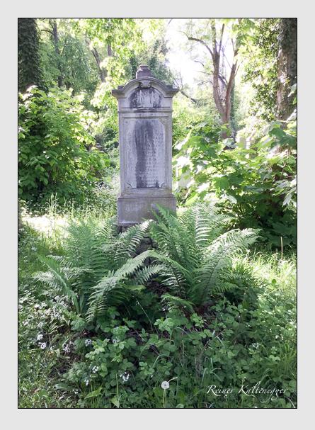 Grab der Familien Matheis · Scheurer auf dem Alten Südfriedhof München (Mai 2016)