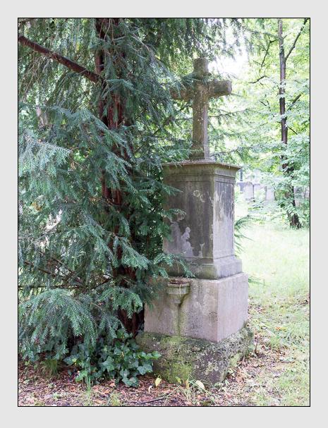 Grab der Familie Kruger auf dem Alten Südfriedhof München (Juli 2016)