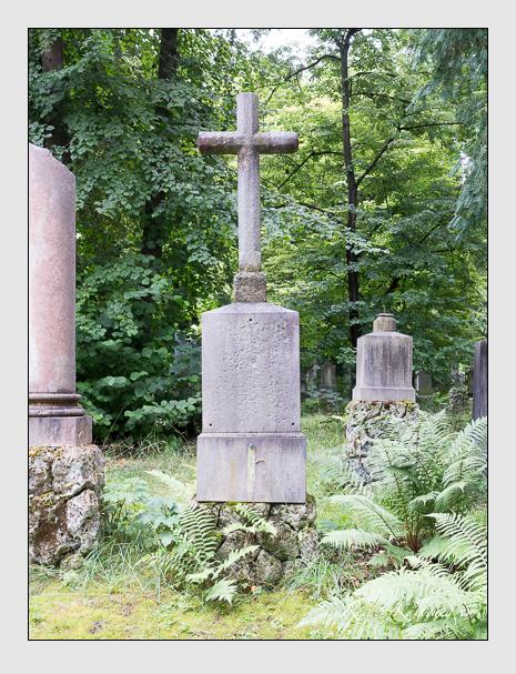 Grab der Familien Föckerer · Keppler auf dem Alten Südfriedhof München (Juli 2016)