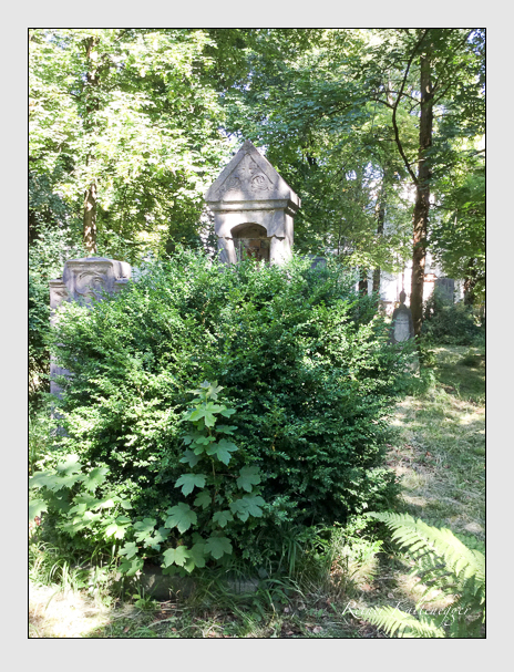 Grab der Familie Geiger auf dem Alten Südfriedhof München (Juli 2016)