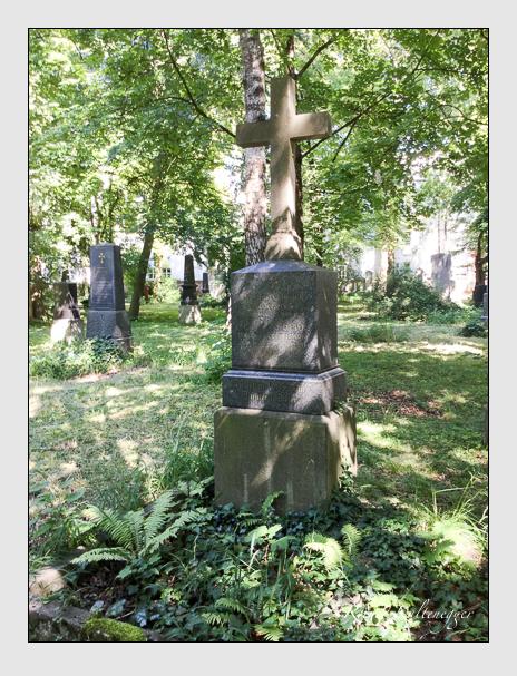 Grab der Familie Dieter auf dem Alten Südfriedhof München (Juli 2016)
