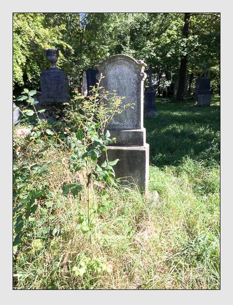 Grab der Familie Namberger auf dem Alten Südfriedhof München (Oktober 2016)