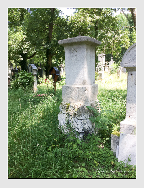 Grab der Familie Stangier auf dem Alten Südfriedhof München (Oktober 2016)