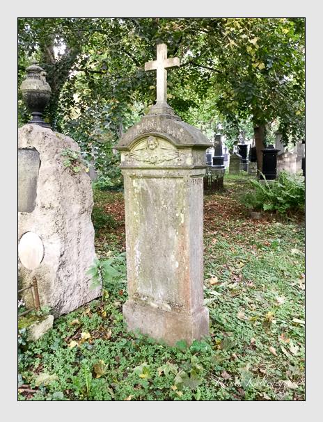 Grab der Familie Schwimbeck auf dem Alten Südfriedhof München (Oktober 2016)