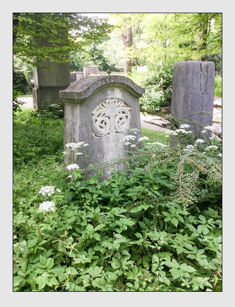 Grab der Familie Moosrainer auf dem Alten Südfriedhof München (Juni 2017)
