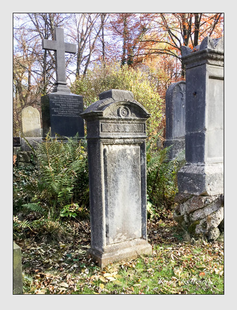 Grab der Familie Zimmermann auf dem Alten Südfriedhof München (Dezember 2017)