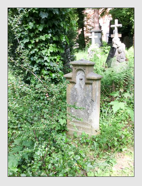 Grab der Familie Förtsch auf dem Alten Südfriedhof München (Dezember 2017)