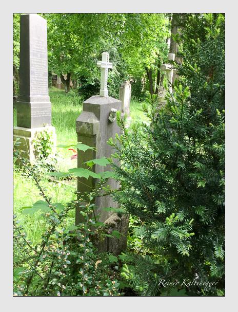 Grab der Familie Lochner auf dem Alten Südfriedhof München (Dezember 2017)