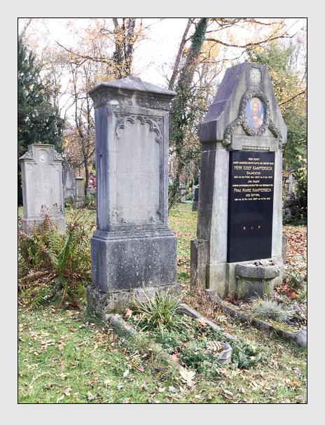 Grab der Familie Kusswetter auf dem Alten Südfriedhof München (Mai 2018)