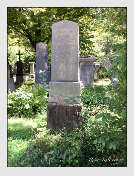 Grab der Familien Holzer · Müller auf dem Alten Südfriedhof München (September 2018)