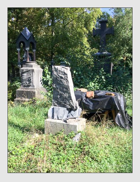 Grab der Familien Haeckel · Roder auf dem Alten Südfriedhof München (September 2018)