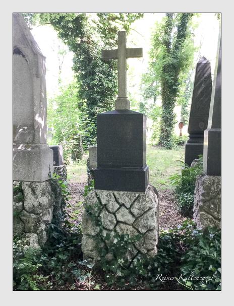 Grab der Familie Zantl auf dem Alten Südfriedhof München (Juli 2019)