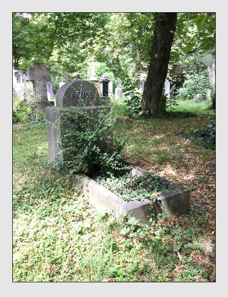 Grab der Familie Reuss auf dem Alten Südfriedhof München (August 2019)