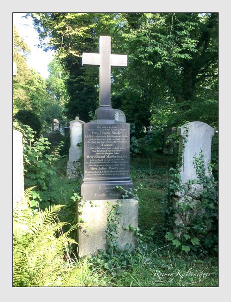 Grab der Familie Mosler auf dem Alten Südfriedhof München (August 2019)