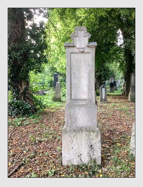 Grab der Familie Herwagen auf dem Alten Südfriedhof München (September 2019)