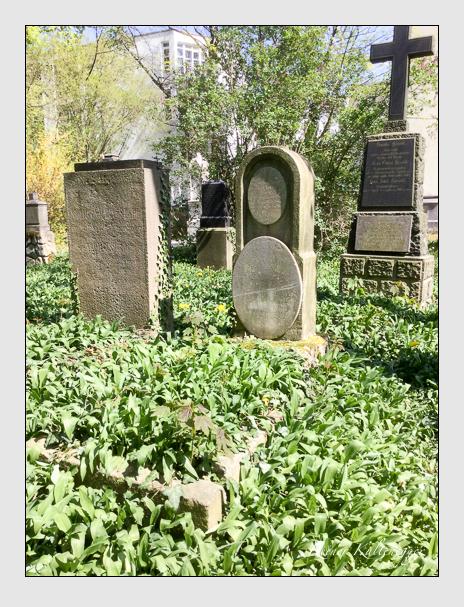 Grab der Familie Bauer auf dem Alten Südfriedhof München (April 2020)