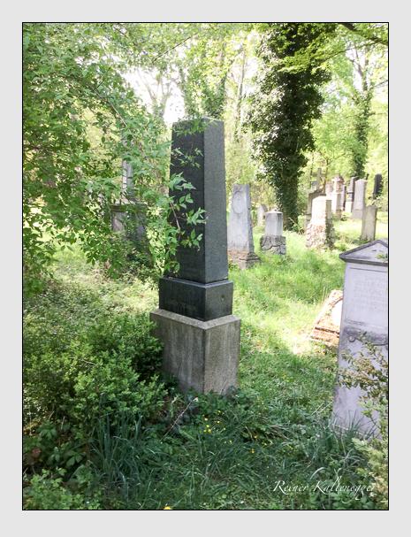 Grab der Familie Strauss auf dem Alten Südfriedhof München (April 2020)