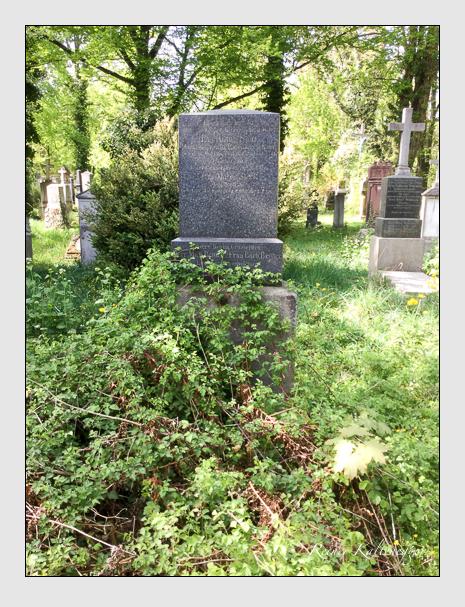 Grab der Familie Steck auf dem Alten Südfriedhof München (April 2020)