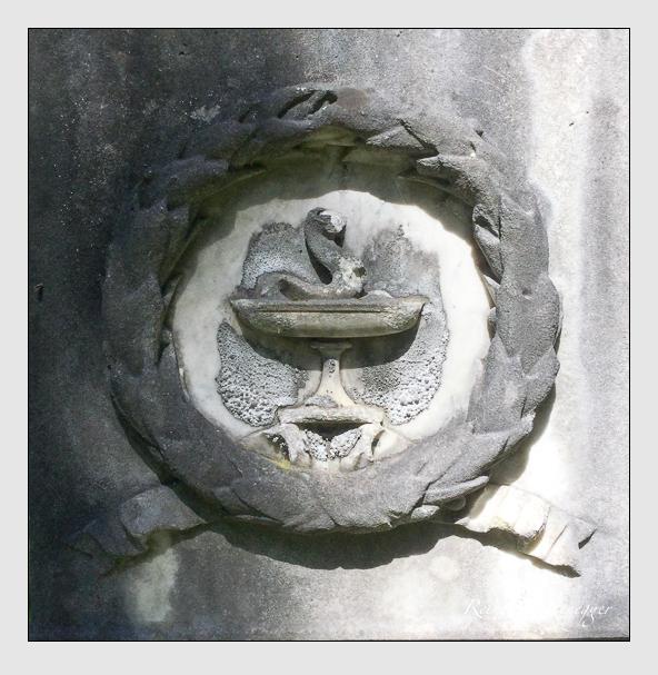 Grab der Familie Stadelmeyer auf dem Alten Südfriedhof München (Juli 2020)