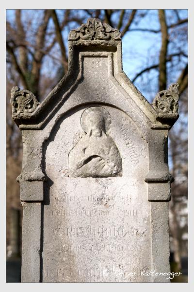 Grab der Familien Fleischmann · Künell auf dem Alten Südfriedhof München (Februar 2021)