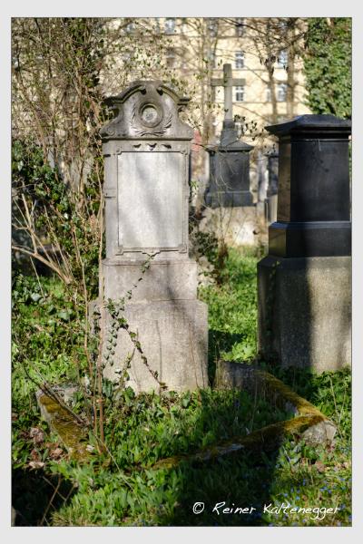 Grab der Familie Buchold auf dem Alten Südfriedhof München (März 2021)