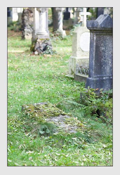 Grab der Familie Rudhart auf dem Alten Südfriedhof München (Oktober 2007)