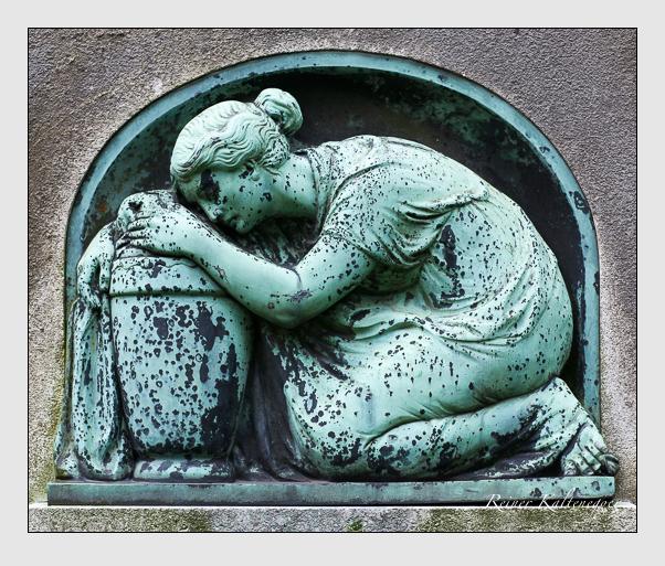 Grab der Familien Schebler · Then auf dem Alten Südfriedhof München (Juli 2008)