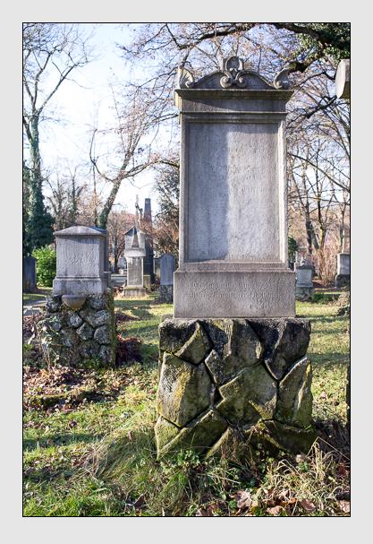 Grab der Familie Dörr auf dem Alten Südfriedhof München (Dezember 2012)