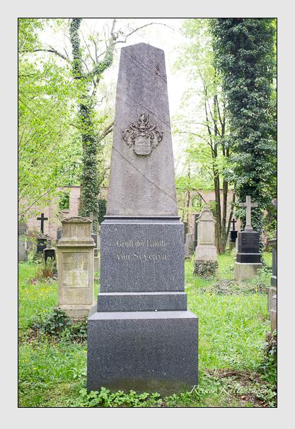 Grab der Familie Scycava auf dem Alten Südfriedhof München (Mai 2013)