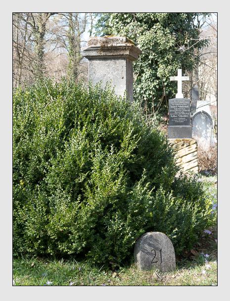 Grab der Familie Harlander auf dem Alten Südfriedhof München (März 2014)