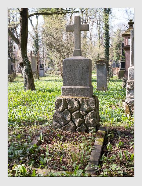 Grab der Familie Ulsamer auf dem Alten Südfriedhof München (März 2014)