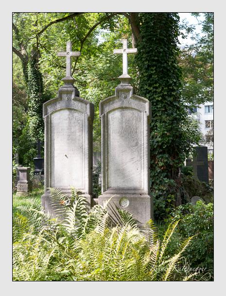Grab der Familien Festl · Heumann auf dem Alten Südfriedhof München (September 2014)
