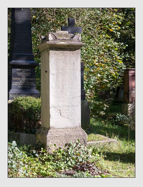Grab der Familie Kleinschroth auf dem Alten Südfriedhof München (September 2014)