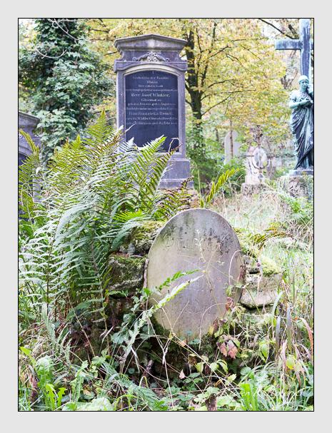 Grab der Familie Heindel auf dem Alten Südfriedhof München (Oktober 2014)