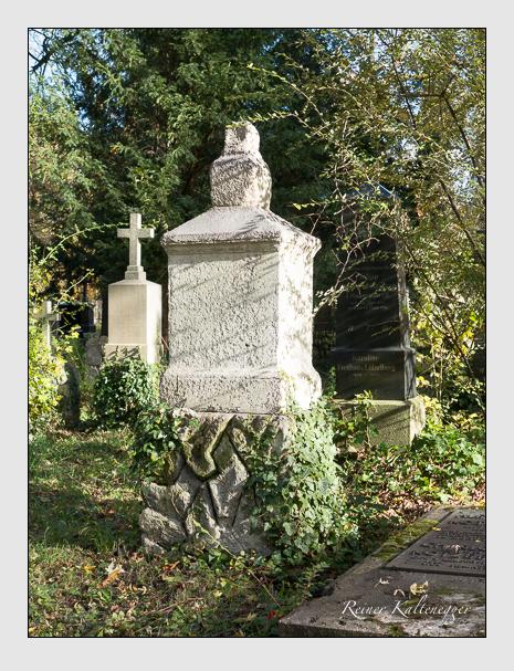 Grab der Familie Schaitler auf dem Alten Südfriedhof München (November 2014)