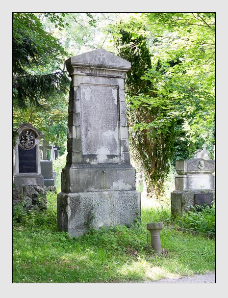 Grab der Familie Wimmer auf dem Alten Südfriedhof München (Mai 2015)